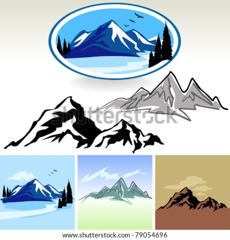 amazing mountain and hills