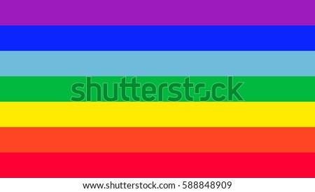 amazing rainbow flag vector
