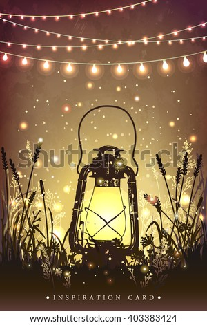 amazing vintage lantern on