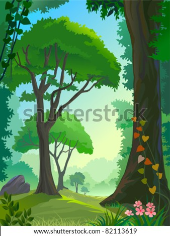 AMAZON FOREST TREES