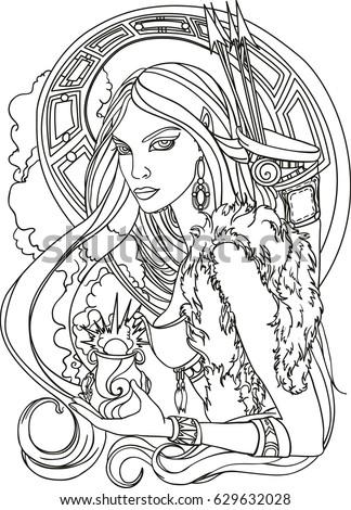 amazon  girl warrior  hunter