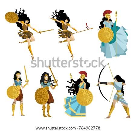 amazon greek women warriors
