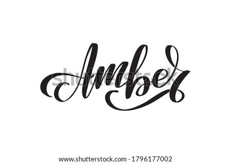 amber inspirational