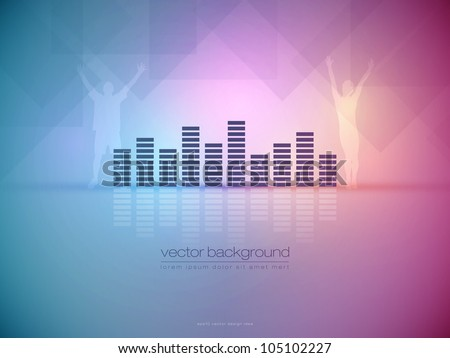 Ambient Party Vector Background - EPS10 Design