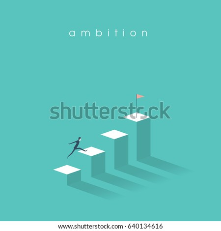 ambition vector concept with