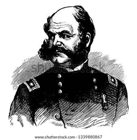 Ambrose Everett Burnside 1824 to 1881 he was an American soldier governor railroad executive inventor and politician from Rhode Island United States senator vintage
