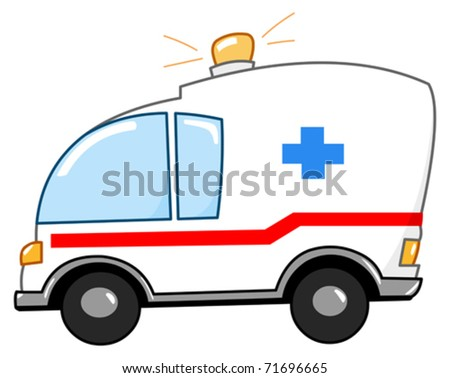Ambulance cartoon