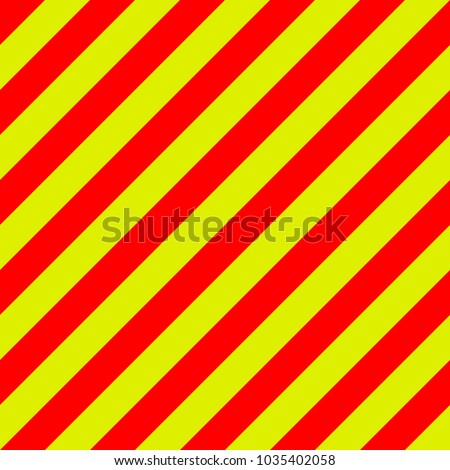ambulance emergency background yellow and red stripes diagonally, ambulance emergency diagonal stripes, a warning to be traffic safety