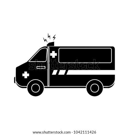 ambulance emergency icon
