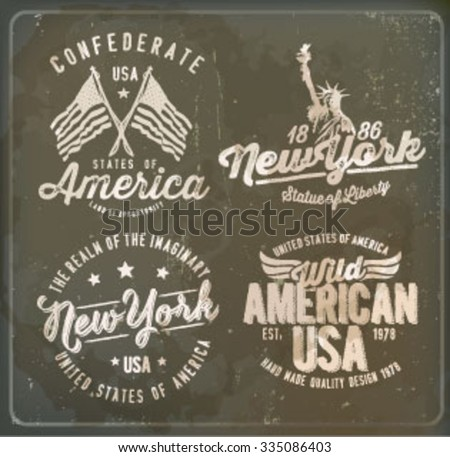 america label set