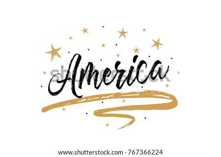 Beautiful vintage graphic vector usa map united states of america america name country word text card banner script beautiful typography inscription greeting calligraphy m4hsunfo
