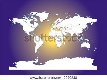 blank world map outline countries. lank world map outline