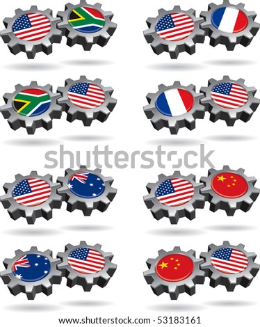 America Works With South Africa, France, Australia, and China