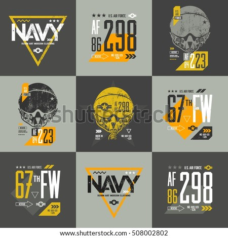 american air force grunge