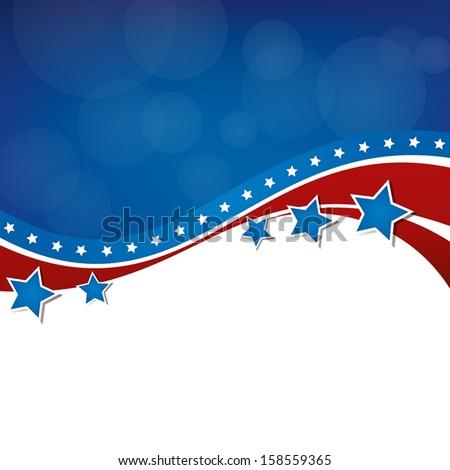 American Background Design Stock photo ©