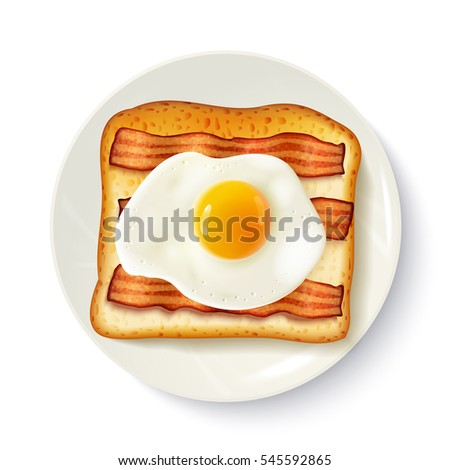 american breakfast food top