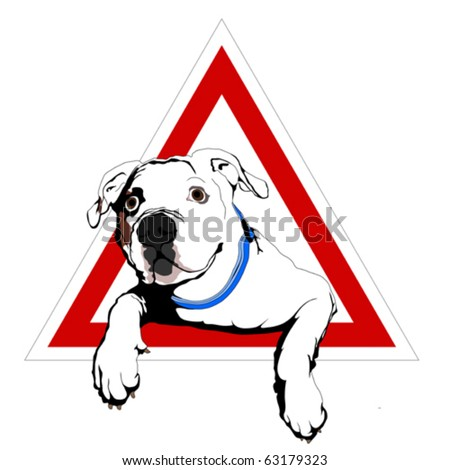American bulldog vector - photo#16