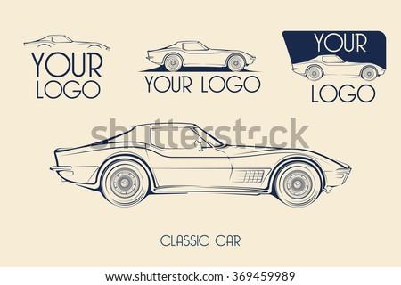 american classic sports car