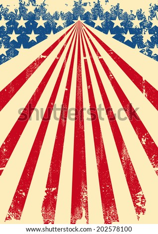 american dirty flag background. ...