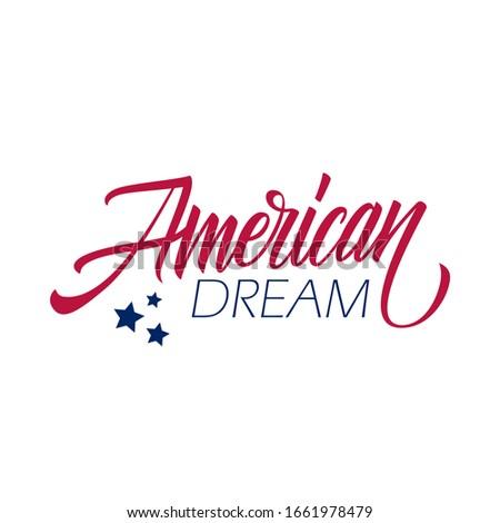 american dream handwritten