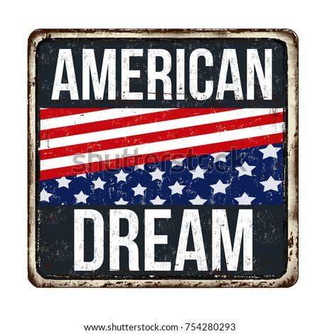 american dream vintage rusty