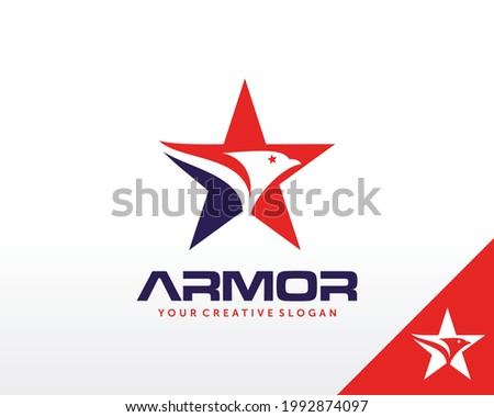 American eagle logo. Eagle Logo design vector