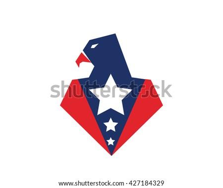 american eagle patriotic logo