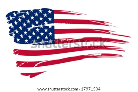 american flag background with eagle. american flag background
