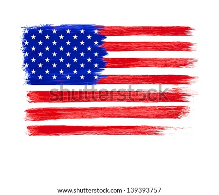 American Flag vector. Independence Day, 4 th July #139393757