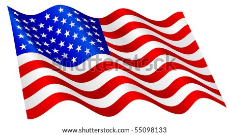 us flags vectors download free vector art stock graphics images rh vecteezy com waving flag vector file waving flag vector free download