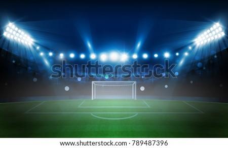 american football arena field