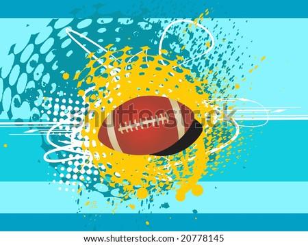 vector : american football 2011
