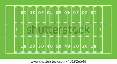 american football field icon