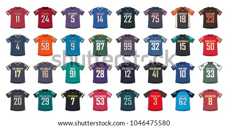 American Football Generic Shirts