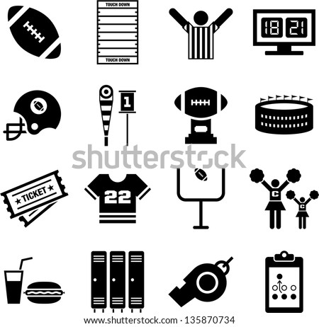 stock-vector-american-football-icons