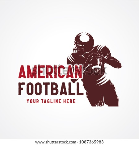 American Football Logo Designs Template