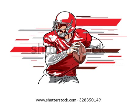 american football player3