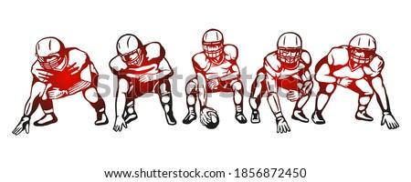 american football players team
