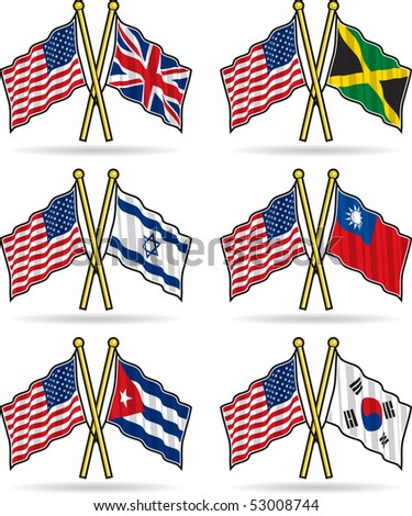 American Friendship Flags 2