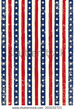 american grungy background an