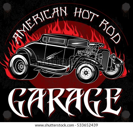 american hot rod garage