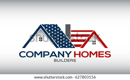american house with stars and