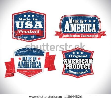 american made in usa retro...