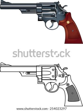 american magnum revolver