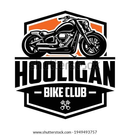 American Motorcycle Club Logo Design Vector Isolated ストックフォト ©
