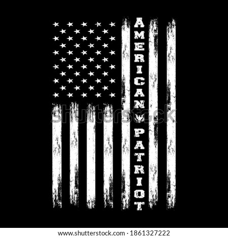 American Patriot - American Patriot T-shirt Foto stock ©