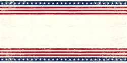 American postcard. An american postcard for you with a large empty space for your text