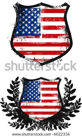 American shields, two models