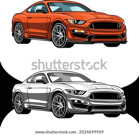 american sport cars red and