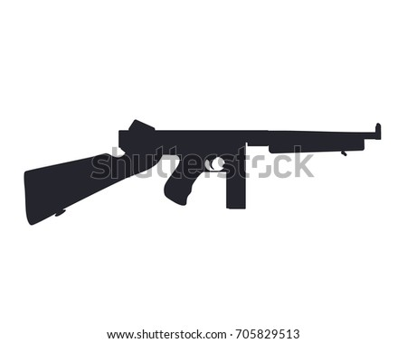 american submachine gun